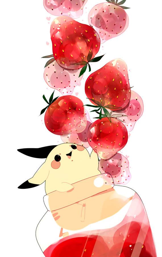 苺 いちご を描いたイラスト特集 真っ赤でかわいい小粒の実 Pixivision