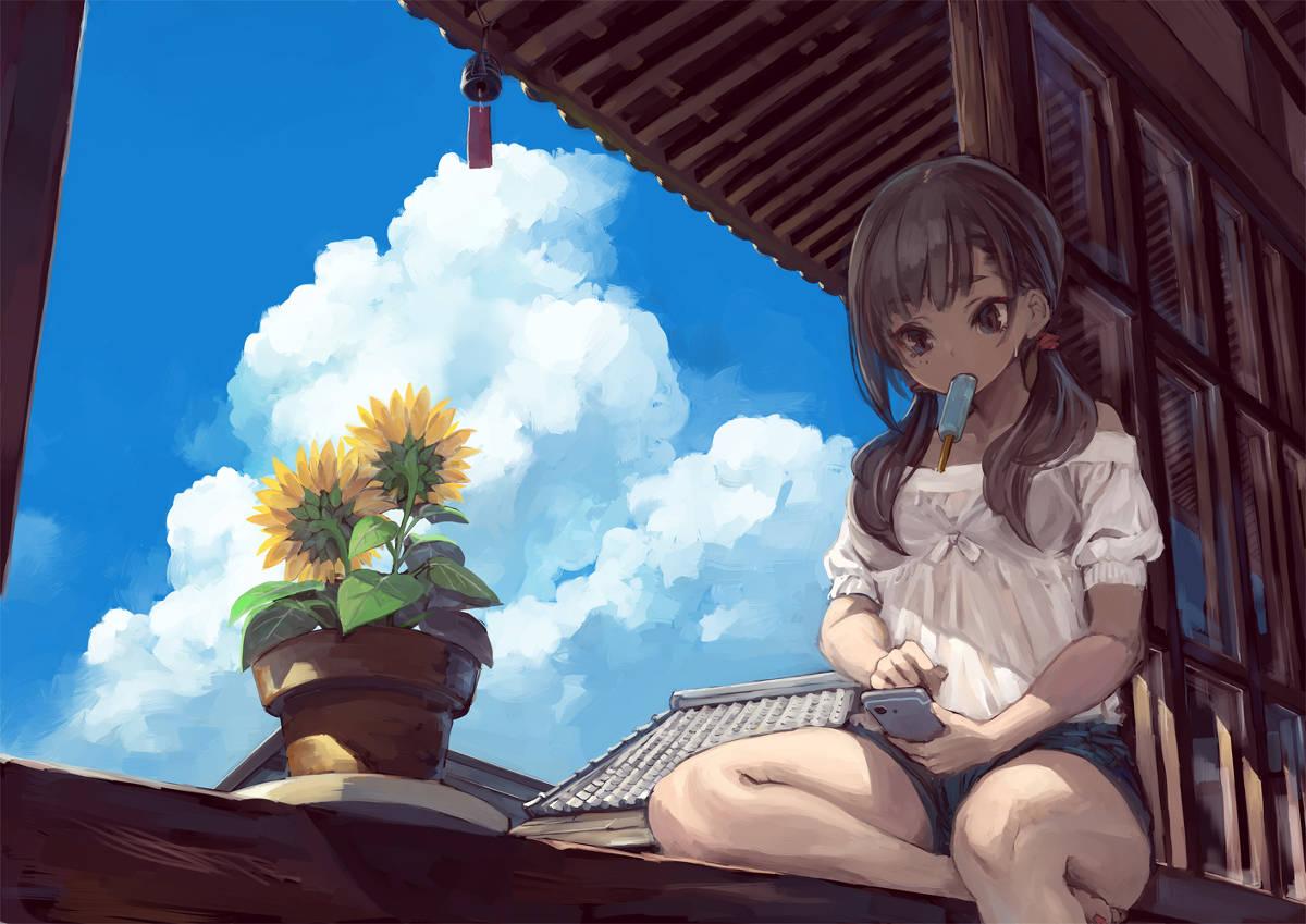 夏の空を描いたイラスト特集 君と見た あの日の空に Pixivision