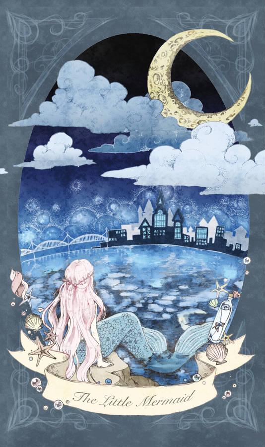 人魚姫を描いたイラスト特集 切ない恋も泡と消えて Pixivision
